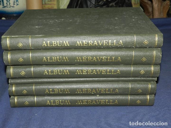 (MF) ALBUM MARAVELLA COMPLETO, 6 VOLS PROV BARCELONA , TARRAGONA, LLEIDA, GERONA, ANDORRA MALLORCA (Libros antiguos (hasta 1936), raros y curiosos - Historia Moderna)