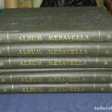 Libros antiguos: (MF) ALBUM MARAVELLA COMPLETO, 6 VOLS PROV BARCELONA , TARRAGONA, LLEIDA, GERONA, ANDORRA MALLORCA . Lote 111156255