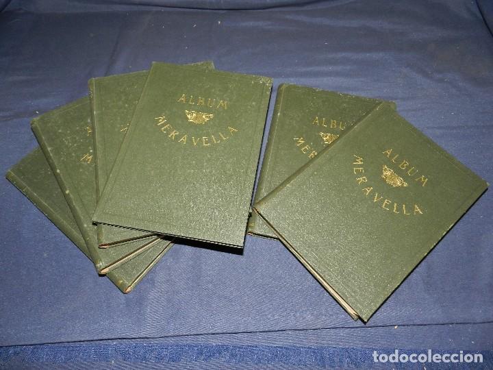 Libros antiguos: (MF) ALBUM MARAVELLA COMPLETO, 6 VOLS PROV BARCELONA , TARRAGONA, LLEIDA, GERONA, ANDORRA MALLORCA - Foto 2 - 111156255