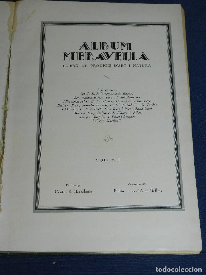 Libros antiguos: (MF) ALBUM MARAVELLA COMPLETO, 6 VOLS PROV BARCELONA , TARRAGONA, LLEIDA, GERONA, ANDORRA MALLORCA - Foto 3 - 111156255