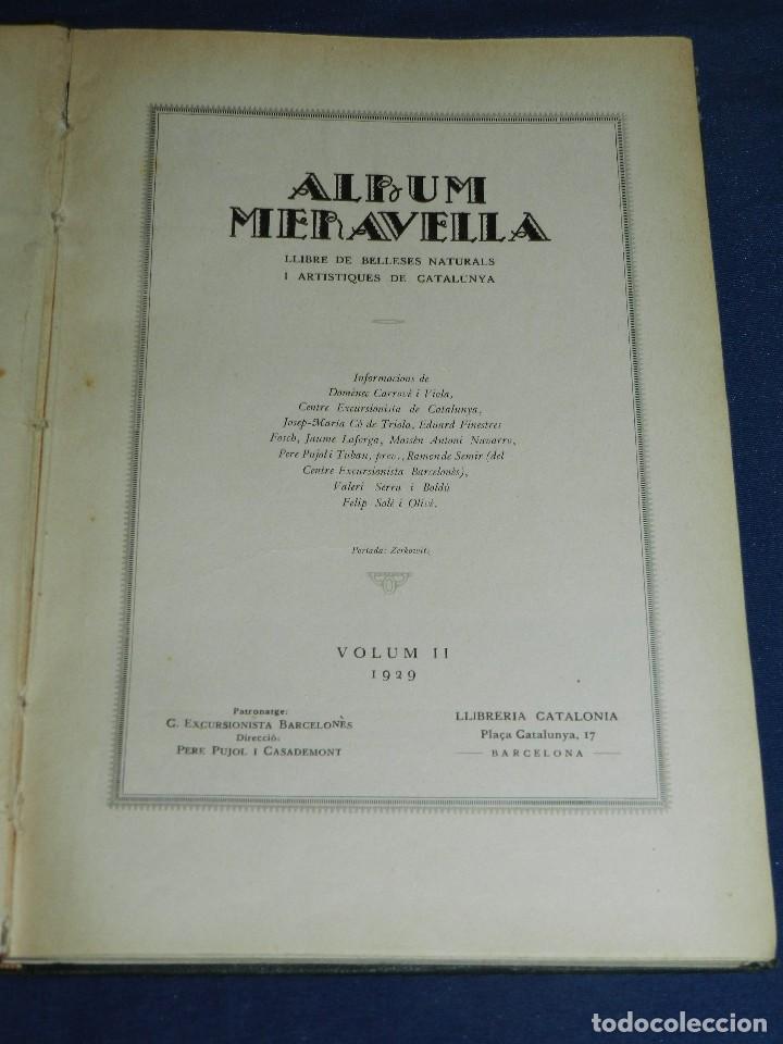 Libros antiguos: (MF) ALBUM MARAVELLA COMPLETO, 6 VOLS PROV BARCELONA , TARRAGONA, LLEIDA, GERONA, ANDORRA MALLORCA - Foto 5 - 111156255
