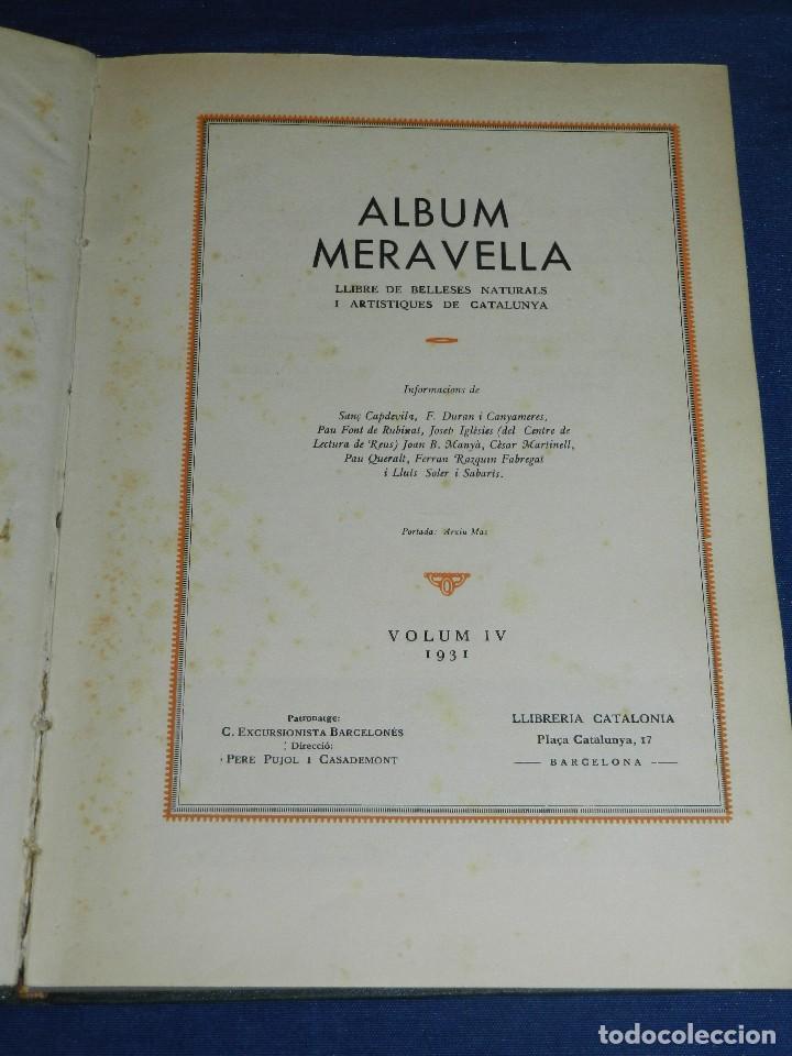 Libros antiguos: (MF) ALBUM MARAVELLA COMPLETO, 6 VOLS PROV BARCELONA , TARRAGONA, LLEIDA, GERONA, ANDORRA MALLORCA - Foto 9 - 111156255
