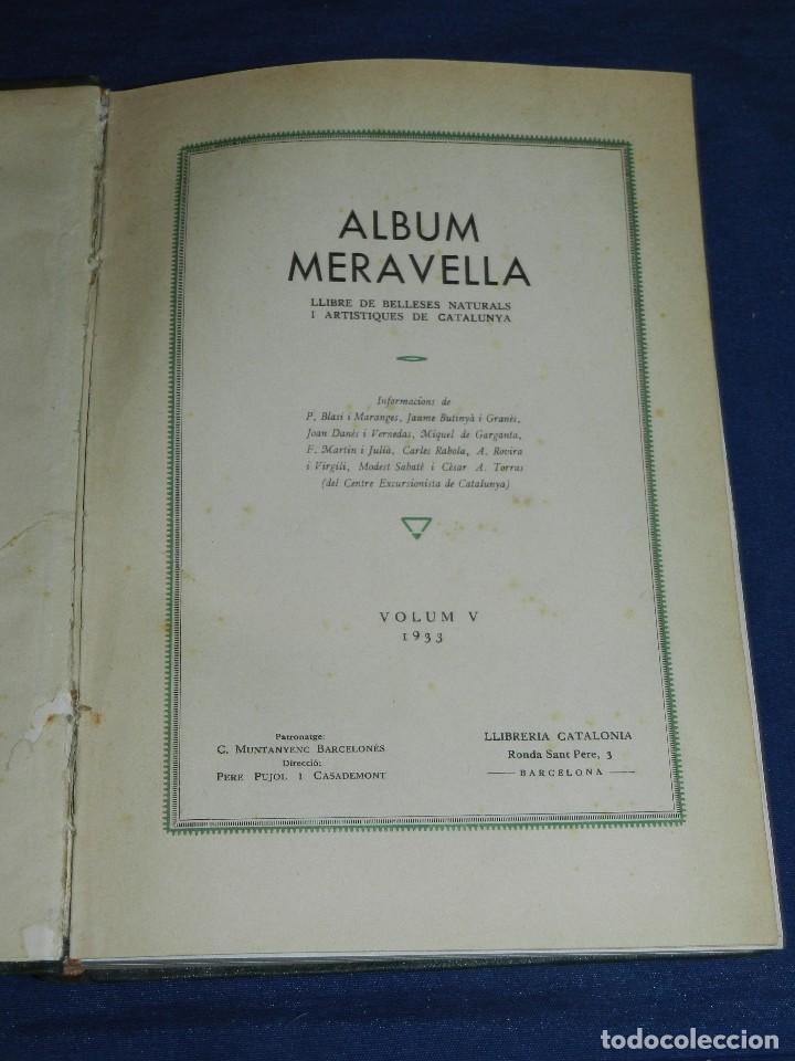 Libros antiguos: (MF) ALBUM MARAVELLA COMPLETO, 6 VOLS PROV BARCELONA , TARRAGONA, LLEIDA, GERONA, ANDORRA MALLORCA - Foto 11 - 111156255