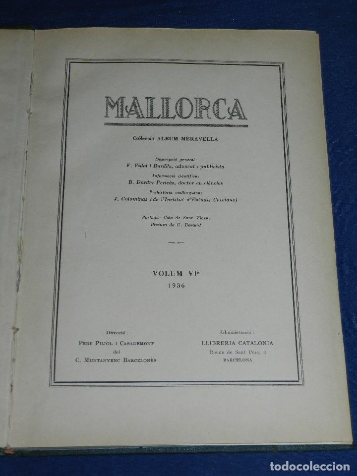 Libros antiguos: (MF) ALBUM MARAVELLA COMPLETO, 6 VOLS PROV BARCELONA , TARRAGONA, LLEIDA, GERONA, ANDORRA MALLORCA - Foto 13 - 111156255