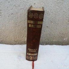 Libros antiguos: LIBRO DE HISTORIA Y FUEROS DEL PAIS VASCO. Lote 111492527