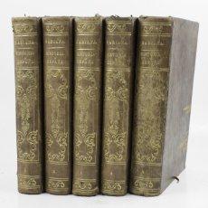 Libros antiguos: HISTORIA GENERAL DE ESPAÑA, 1850, PADRE MARIANA, 5 TOMOS, MADRID. 18,5X27CM. Lote 111776655