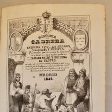 Libros antiguos: HISTORIA DE CABRERA Y DE LA GUERRA EN ARAGÓN, VALENCIA Y MURCIA - 1846 MADRID- 2 EDICIÓN. Lote 112621367