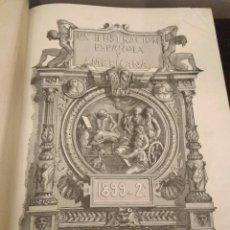 Libros antiguos: LA ILUSTRACIÓN ESPAÑOLA Y AMERICANA 1899 - 2º TOMO. Lote 112755175