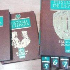 Libros antiguos: HISTORIA DE ESPAÑA -10 VOLUMENES -PLANETA AGOSTINI ARTEL -1994. Lote 113019871