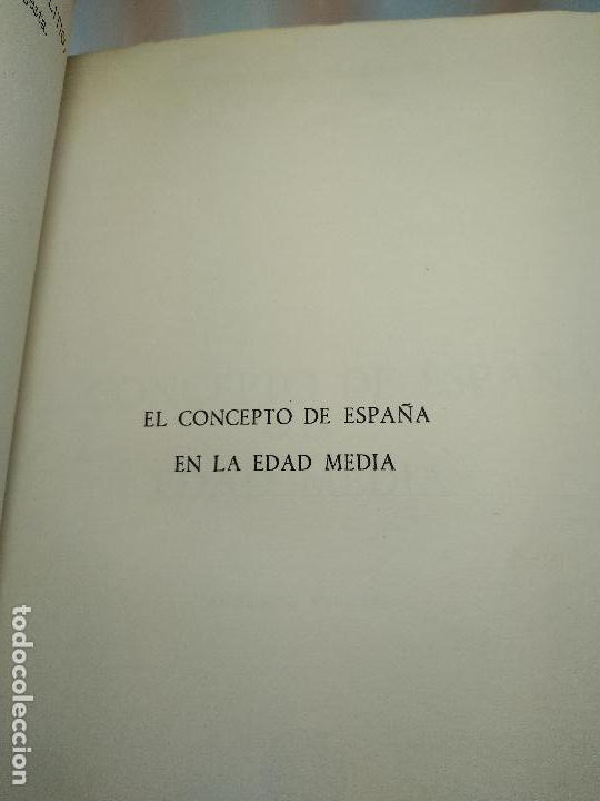 Libros antiguos: EL CONCEPTO DE ESPAÑA EN LA EDAD MEDIA - JOSE A MARAVALL - INST. DE ESTUDIOS POLÍTICOS - 1964 - - Foto 4 - 113337151