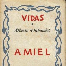 Libros antiguos: AMIEL, POR ALBERTO THIBAUDET. AÑO 1931. (2.1). Lote 114283843