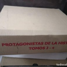 Libros antiguos: PROTAGONISTAS DE LA HISTORIA TOMOS 3 Y 4 DIFUSORA INTERNACIONAL . Lote 114338019