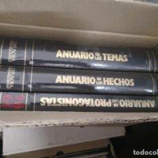 Libros antiguos: TRES VOLUMENES ANUARIOS AÑO 1994 DIFUSORA INTERNACIONAL. Lote 114338391