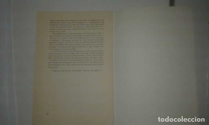 Libros antiguos: The Early Years of the Red Cross. International Review of the Red Cross. Geneva 1963 - Foto 3 - 114277359