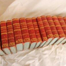 Libros antiguos: EL CONSULADO Y EL IMPERIO,THIERS, MADRID, TIPOGRAFIA MELLADO 1846, XIX TOMOS. Lote 114544087