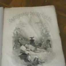 Alte Bücher - cOSTUMBRES DEL UNIVERSO NICOLAS DIAZ DE BENJUMEA 1865 ALOU HERMANOS EDITORES 38 x 28 cm. 17 GRABADOS - 115378387