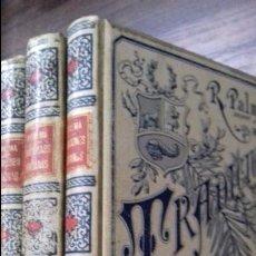 Libros antiguos: TRADICIONES PERUANAS. RICARDO PALMA. OBRA EN CUATRO TOMOS. MONTANER Y SIMON, EDITORES. 1893.. Lote 115461331