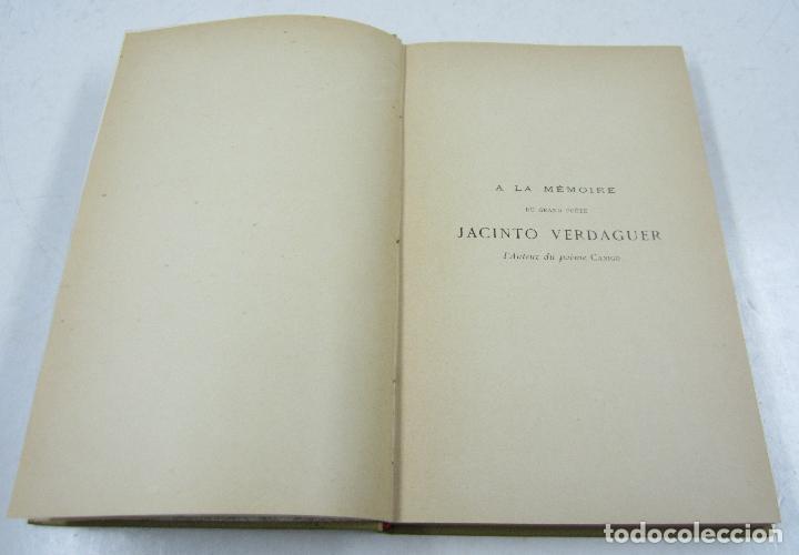 Libros antiguos: Histoire de labbaye royale de Saint Martin du Canigou, C. François Font, 1903, Perpignan. 15x22cm - Foto 3 - 115546191