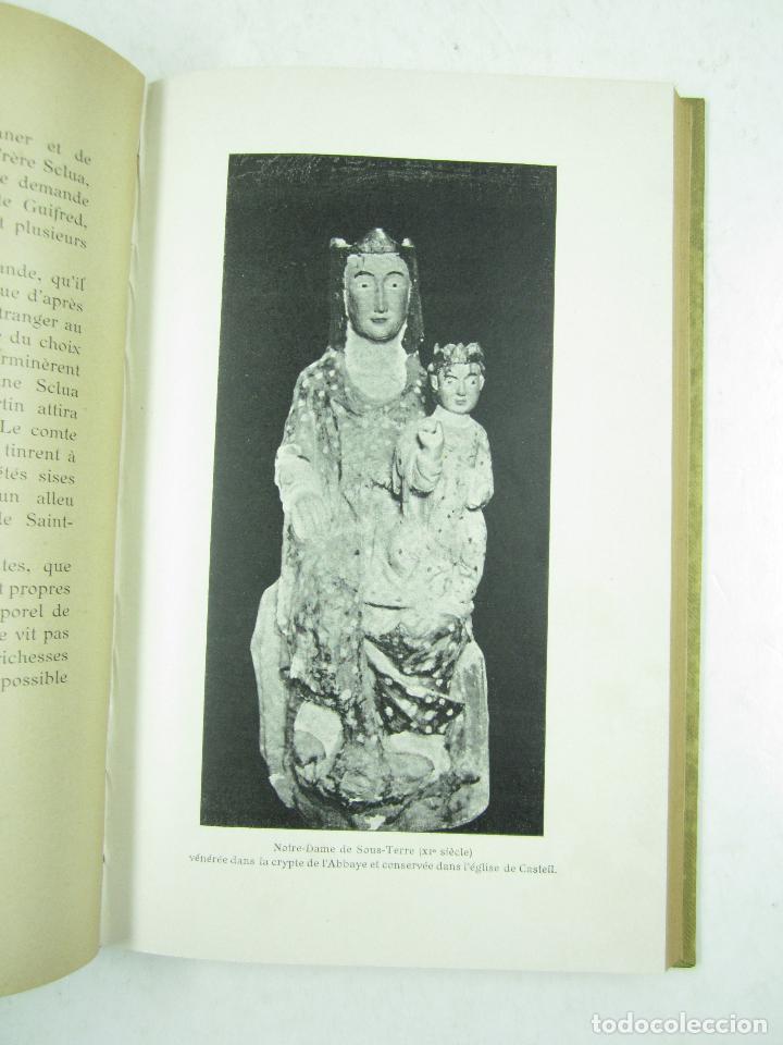 Libros antiguos: Histoire de labbaye royale de Saint Martin du Canigou, C. François Font, 1903, Perpignan. 15x22cm - Foto 4 - 115546191