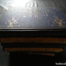 Libros antiguos: LOTE SIETE DE LOS 9 TOMOS DE HISTORIA GENERAL DE ESPAÑA Y LAS NACIONES AMERICANAS...BARCELONA 1920. Lote 116477179