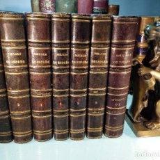 Libros antiguos: NOBILIARIO DE LOS REINOS Y SEÑORÍOS DE ESPAÑA - D. FRANCISCO PIFERRER - 8 VOL. EN 7 TOMOS - 1857 - . Lote 117006907
