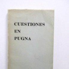 Libros antiguos: CUESTIONES EN PUGNA, ANÁLISIS CUESTIONES EN PUGNA ENTRE BLOQUE SOVIÉTICO Y EL MUNDO LIBRE, RARO. Lote 117023635