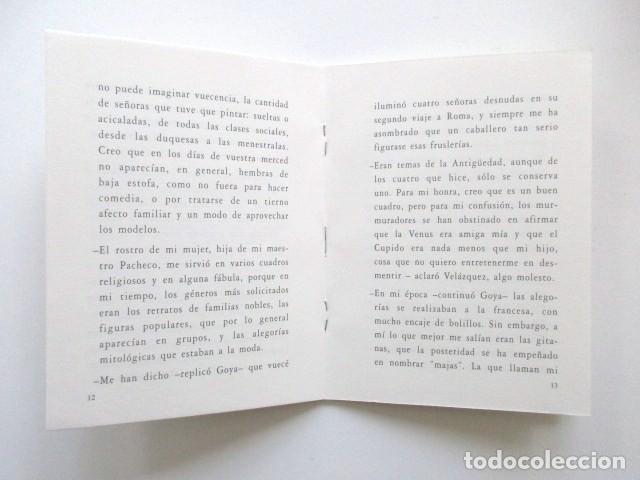 Libros antiguos: GOYA DESCUBRIENDO A VELÁZQUEZ, HOMENAJE A JULIÁN GÁLLEGO, LOTE DOS LIBROS + INVITACIÓN - Foto 6 - 117025119