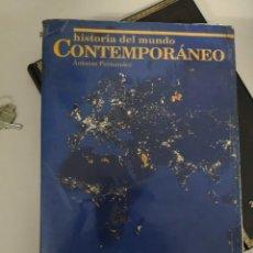 Libros antiguos: HISTORIA DEL MUNDO CONTEMPORANEO.ANTONIO FERNANDEZ.COU.VICENS VIVES. Lote 130257338