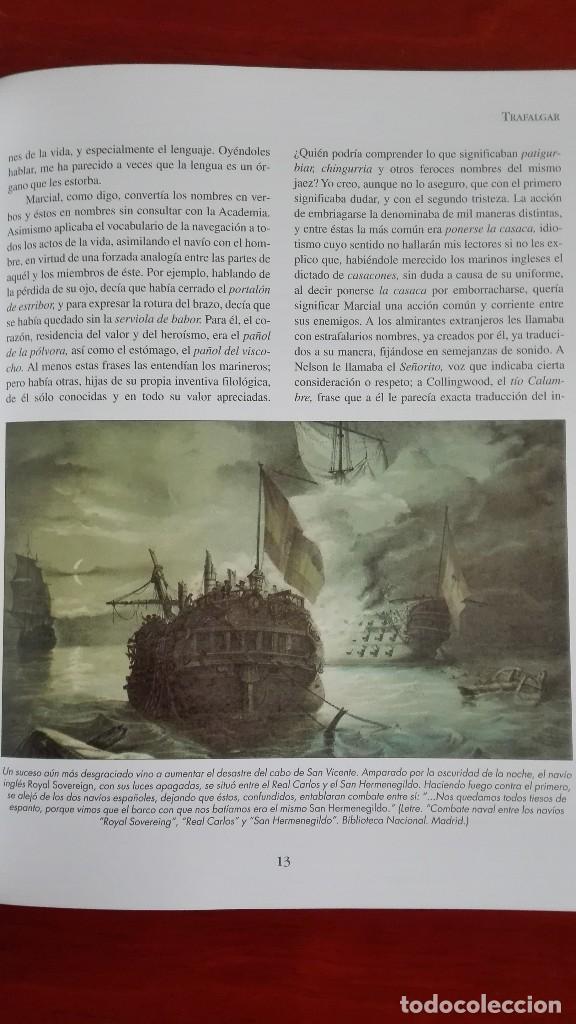 Libros antiguos: Episodios Nacionales Trafalgar - Foto 4 - 117354663