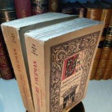 Libros antiguos: GOBERNACIÓN DEL TUCUMÁN - PAPELES DE GOBERNADORES EN EL SIGLO XVI - 2 TOMOS - ARCHIVO DE INDIAS 1920. Lote 117374735