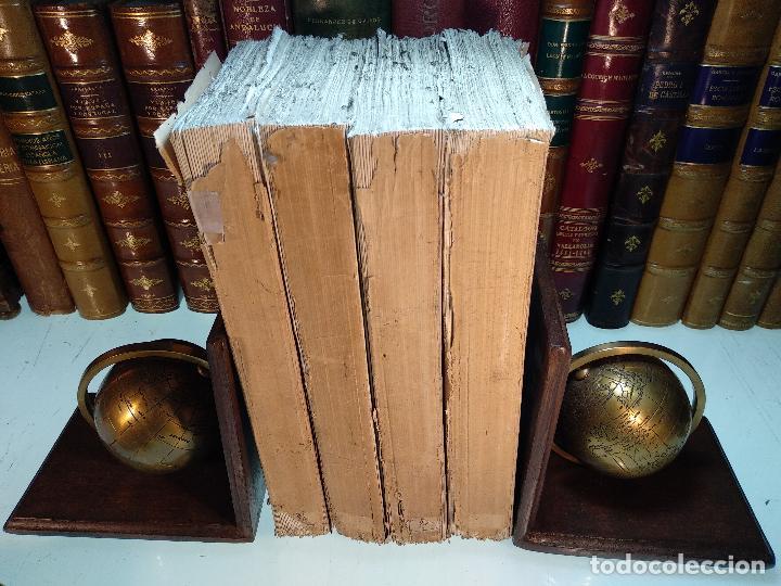 HISTORIA DEL LEVANTAMIENTO, GUERRA Y REVOLUCIÓN DE ESPAÑA POR EL CONDE TORENO - 4 TOMOS - 1847 - (Libros antiguos (hasta 1936), raros y curiosos - Historia Moderna)