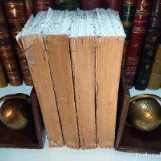 Libros antiguos: HISTORIA DEL LEVANTAMIENTO, GUERRA Y REVOLUCIÓN DE ESPAÑA POR EL CONDE TORENO - 4 TOMOS - 1847 -. Lote 117412967