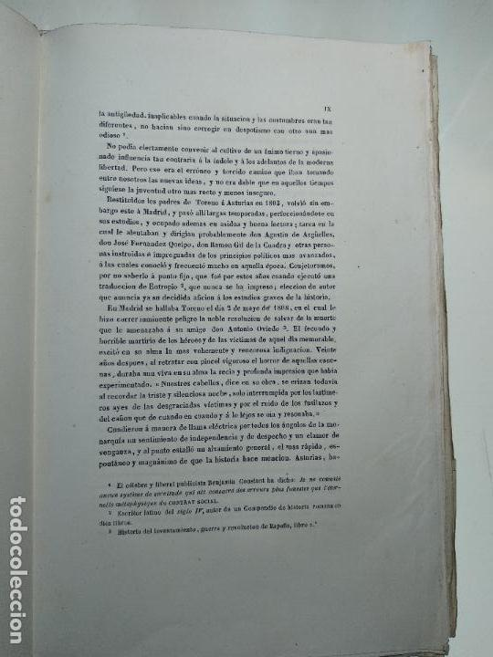 Libros antiguos: HISTORIA DEL LEVANTAMIENTO, GUERRA Y REVOLUCIÓN DE ESPAÑA POR EL CONDE TORENO - 4 TOMOS - 1847 - - Foto 5 - 117412967