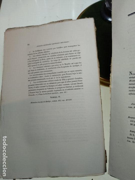 Libros antiguos: HISTORIA DEL LEVANTAMIENTO, GUERRA Y REVOLUCIÓN DE ESPAÑA POR EL CONDE TORENO - 4 TOMOS - 1847 - - Foto 6 - 117412967