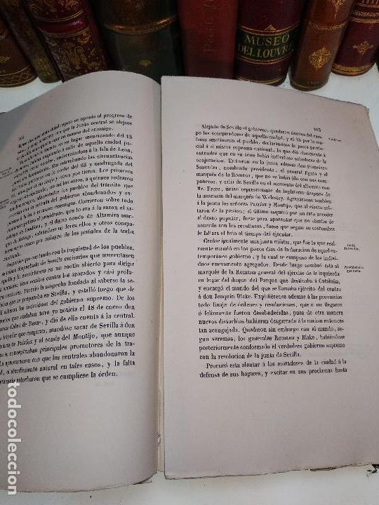 Libros antiguos: HISTORIA DEL LEVANTAMIENTO, GUERRA Y REVOLUCIÓN DE ESPAÑA POR EL CONDE TORENO - 4 TOMOS - 1847 - - Foto 13 - 117412967