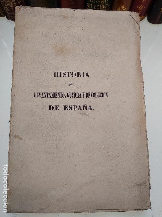 Libros antiguos: HISTORIA DEL LEVANTAMIENTO, GUERRA Y REVOLUCIÓN DE ESPAÑA POR EL CONDE TORENO - 4 TOMOS - 1847 - - Foto 15 - 117412967