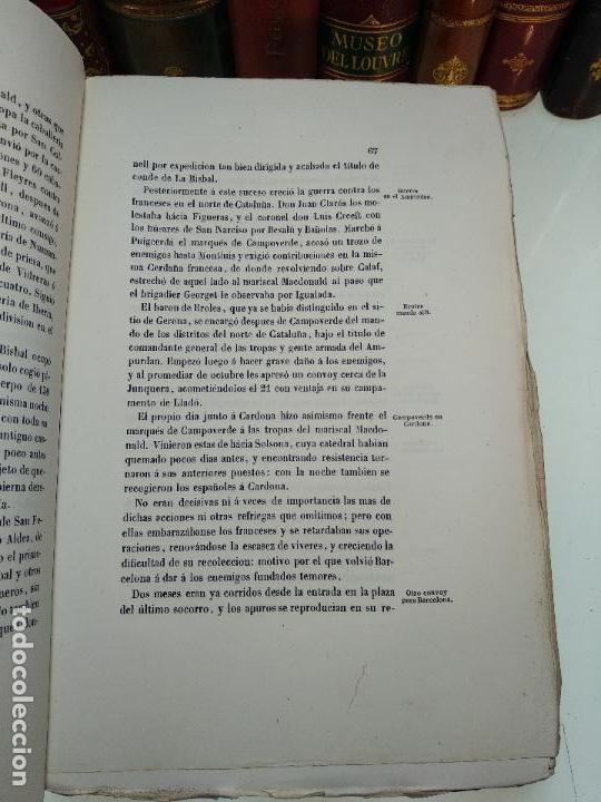 Libros antiguos: HISTORIA DEL LEVANTAMIENTO, GUERRA Y REVOLUCIÓN DE ESPAÑA POR EL CONDE TORENO - 4 TOMOS - 1847 - - Foto 17 - 117412967