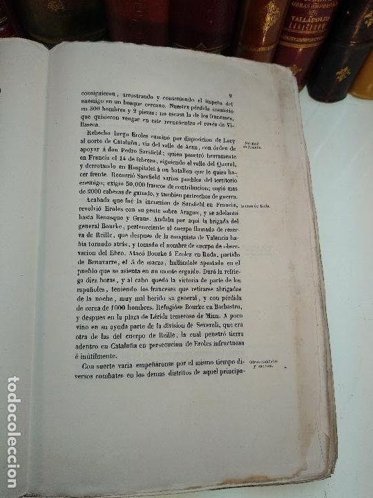 Libros antiguos: HISTORIA DEL LEVANTAMIENTO, GUERRA Y REVOLUCIÓN DE ESPAÑA POR EL CONDE TORENO - 4 TOMOS - 1847 - - Foto 23 - 117412967