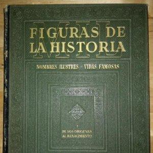 MIL FIGURAS DE LA HISTORIA NOMBRES ILUSTRES VIDAS FAMOSAS TOMO I GALLACH BUEN PRECIO