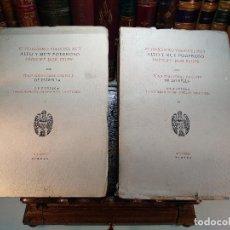 Libri antichi: EL FELICÍSIMO VIAJE DEL MUY ALTO Y MUY PODEROSO PRÍNCIPE DON FELIPE - JUAN CRISTÓBAL CALVETE - 1930. Lote 117896103