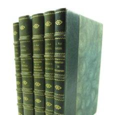 Libros antiguos: JOAQUIM PLA CARGOL, 5 TOMOS DE SU OBRA SOBRE GERONA, 1944, 1945, 1945, 1946, 1947. 19,5X25CM. Lote 118352715