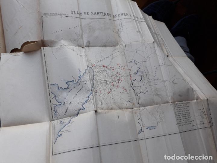 Libros antiguos: La Guerra Hispano-Americana. Santiago de Cuba. Por Severo Gómez Núñez. Año 1901. - Foto 3 - 118470823