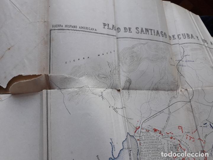 Libros antiguos: La Guerra Hispano-Americana. Santiago de Cuba. Por Severo Gómez Núñez. Año 1901. - Foto 4 - 118470823