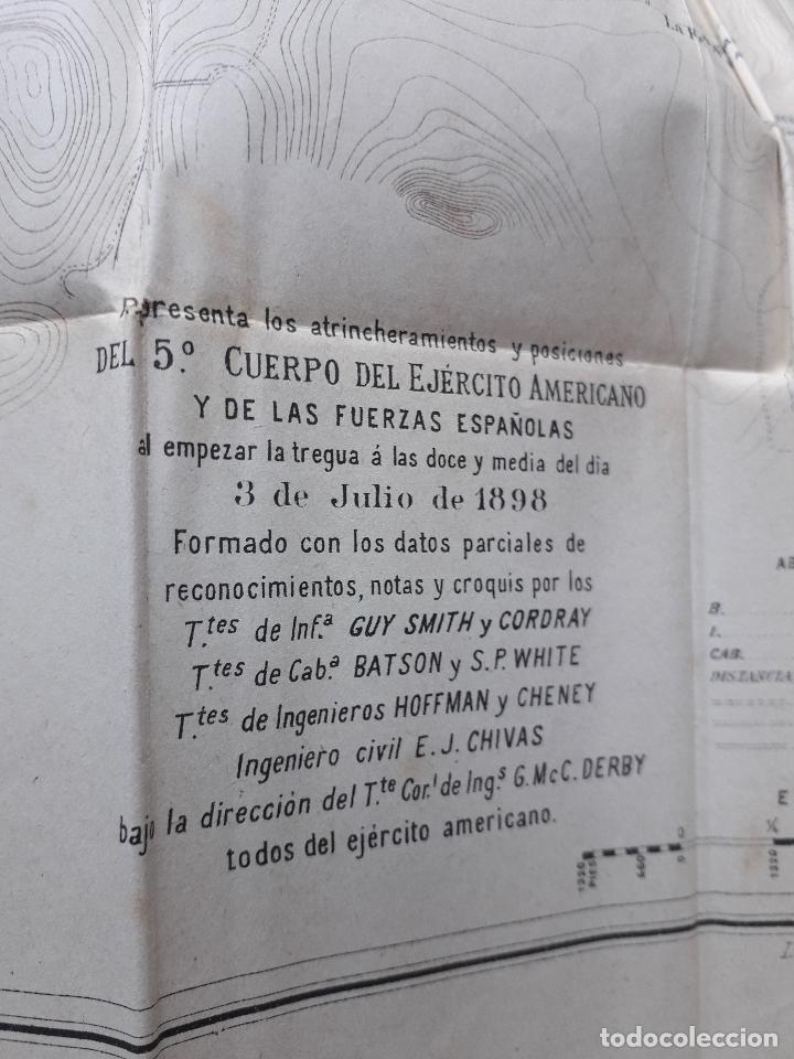 Libros antiguos: La Guerra Hispano-Americana. Santiago de Cuba. Por Severo Gómez Núñez. Año 1901. - Foto 5 - 118470823