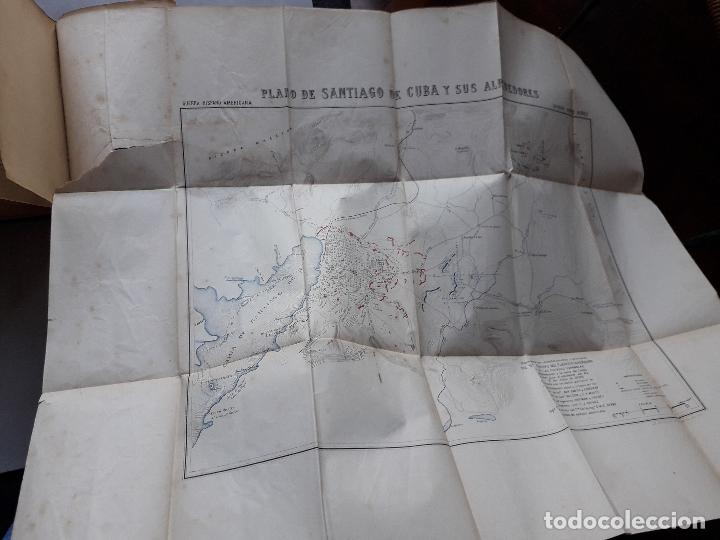 Libros antiguos: La Guerra Hispano-Americana. Santiago de Cuba. Por Severo Gómez Núñez. Año 1901. - Foto 8 - 118470823