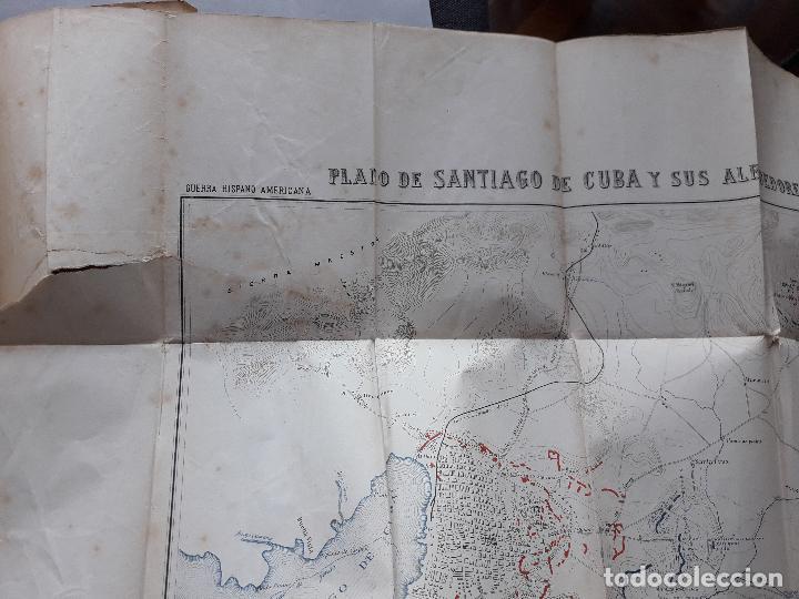 Libros antiguos: La Guerra Hispano-Americana. Santiago de Cuba. Por Severo Gómez Núñez. Año 1901. - Foto 9 - 118470823