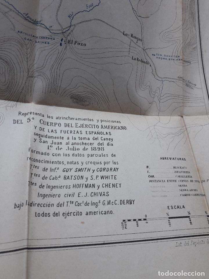 Libros antiguos: La Guerra Hispano-Americana. Santiago de Cuba. Por Severo Gómez Núñez. Año 1901. - Foto 10 - 118470823