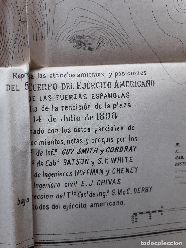 Libros antiguos: La Guerra Hispano-Americana. Santiago de Cuba. Por Severo Gómez Núñez. Año 1901. - Foto 14 - 118470823