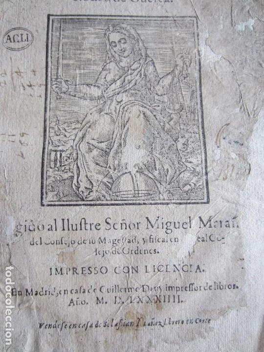 Libros antiguos: 1584-PRÁCTICA DE PROCURADORES.JUAN MUÑOZ.PROCURADOR CAUSAS EN GUEFCA.HUESCA.ARAGÓN.ORIGINAL Y ÚNICO - Foto 2 - 121502743