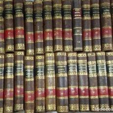 Libros antiguos: HISTORIA GENERAL DE ESPAÑA POR MODESTO LAFUENTE 30 TOMOS MADRID IMPRENTA DE MELLADO. Lote 121784715